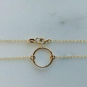 Jewelry - Gold Circle Bracelet